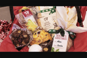 Muffin Break – Win a Christmas Hamper (prize valued at $225)