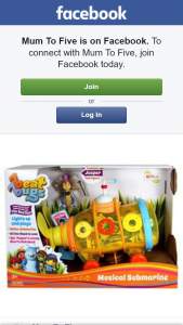 Mum to Five – Win 1 of 2 Beat Bugs Musical Yellow Submarines RRP $59.95 Each