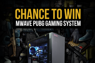 MWave – Win a Mwave Pubg Gaming Pc Geforce Gtx 1070 & Core I7 7700k (prize valued at $2,599)