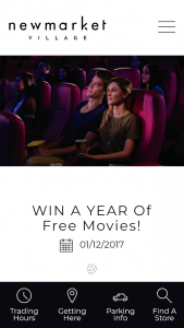 Newmarket Village – Win a Year of Free Movies // Start 2018 Off on The Right Foot With a Year of Free Movies at Reading Cinemas
