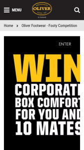 Oliver's Boots- Upload a picture of of you wearing your boots & – Win a Prize In this Competition (prize valued at $5,000)