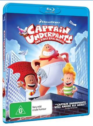 Out and About With Kids – Win 1 of 10 Copies of Captain Underpants