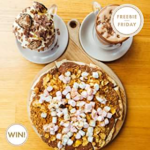 Pacific Fair Shopping Centre – Win 1 of 3 Cowch Dessert Cocktail Bar Vouchers for Any Dessert Pizza and Two Hot Chocolates