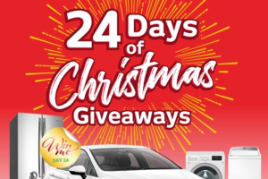 Retravision 24 days of Christmas – Win a Prize Everyday and a Grand Prize of a Holden Astra (prize valued at $77,553)