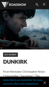 Roadshow Entertainment – Win a Signed Dunkirk Poster