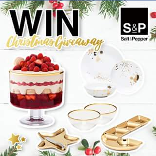 Salt&Pepper – Win a Salt&pepper Xmas Entertainment Pack With Our Gorgeous Pollock (prize valued at $269.7)