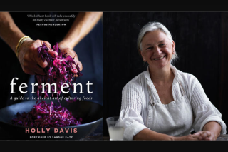 SBS Food – Win a Copy of The Ferment Cookbook (prize valued at $135)
