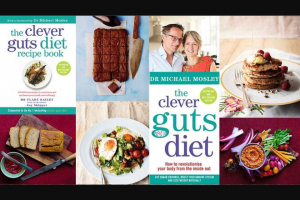 SBS Food 3 x Clever Guts Book Packs – Win The Nominated Prizes (prize valued at $194)