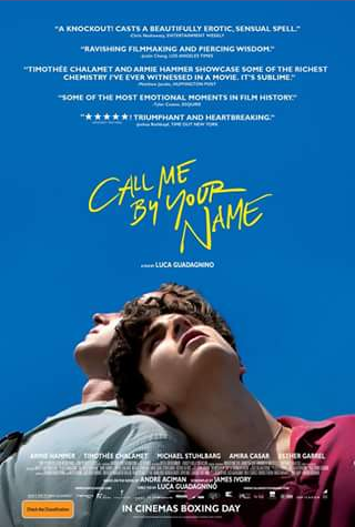 SheBrisbane – Win One of Five Call Me By Your Name Double Passes