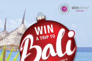 Skin Deep medi-spa – 'win a Trip to Bali' Promotion (prize valued at $2,000)