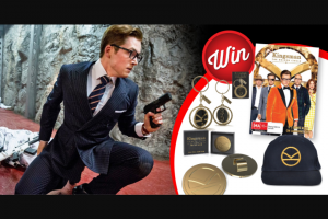 Stack Magazine – Win 1/10 Kingsman The Golden Circle Prize-Packs