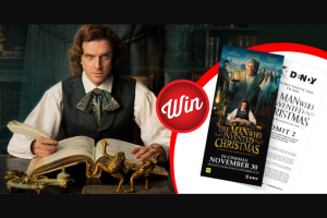 Stack Magazine – Win 1/10 Win a Double Pass to See The Man Who Invented Christmas