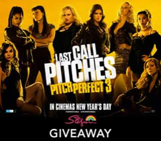 Stefan haircare – Win Tickets to The Brisbane Premiere of Pitch Perfect 3