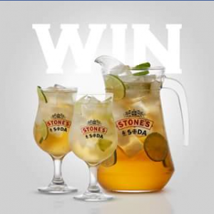 Stones Original – Win a Set of Stones & Soda Glasses & Jugs