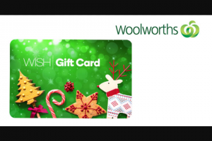 Student Edge – Win 1 of 4 $200 Woolworths Wish Egift Cards (prize valued at $800)