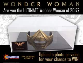 Supanova – Win this Official Wonder Woman Film Replica Tiara… 1 of Only 100 Made In The World and It Could Be Yours