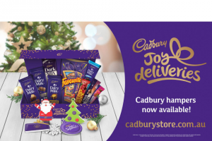 SweeponWIN 1 of 5 CADBURY FREE THE JOY CHOCOLATE HAMPERS MAY CLOSE EARLY – Win One of Five Luxury Hampers to Bring Extra Joy to Your Festive Season (prize valued at $100)