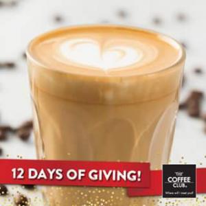 The Coffee Club – Win 1/10 Free Coffees