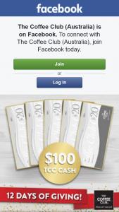 The Coffee Club – Win $100 Tcc Cash