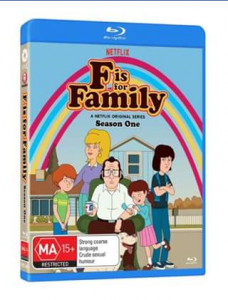 The Directors Suite Cast – Win 1 of 3 Copies of F Is for Family on Blu Ray From Via Vision .