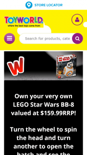 Toyworld – Win The Out-Of-This-World Lego Star Wars Bb-8 75187 Simply Enter Via The Entry Form