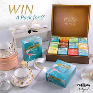 Twinings – Win a Twinings Gift Pack for You and Your Friend