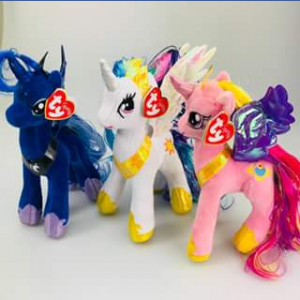 Ty beanie boo collectors – Win Three My Little Ponies Beanies