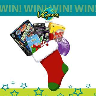"""U Games Australia – Win All The Products In The Stocking Tell Us """"what Your Christmas Wish Is""""."""