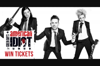 Warner Music – I like your old stuff – Win Tickets to See Green Day's 'american Idiot' Musical (prize valued at $1,608)