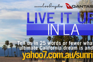 Weekend Channel 7 – Sunrise – Win a Trip for Two to Los Angeles (prize valued at $9,886)