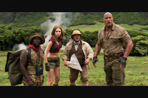 Weekend edition – Win One of Ten Double Passes to See Jumanji