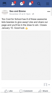 Win One of Eight Cool Children's Beanies (prize valued at $160)