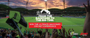 Amart Furniture – Win the Ultimate Backyard Cricket Experience with Sydney Thunder valued at $11,848