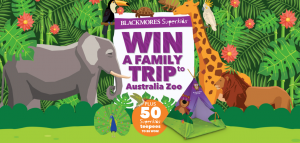 Blackmores – Superkids – Win a major prize of a family trip for 4 to Australia Zoo valued at $6,000 OR 1 of 50 minor prizes