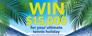 Blackmores – Win a major prize of the ultimate tennis holiday valued at up to $15,000 OR 1 of 2 minor prizes of a tennis pack valued at $330 each