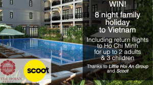 Bound Round – Vietnam: Little Hoi An Group & Scoot – Win a family trip of 5 to Hoi An