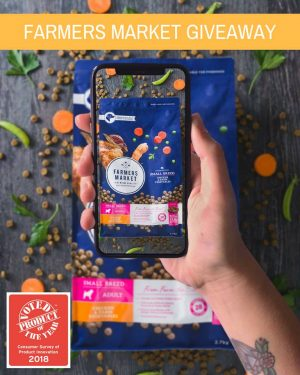 Farmers Market Pet Food – Win 1 of 2 award-winning prizes