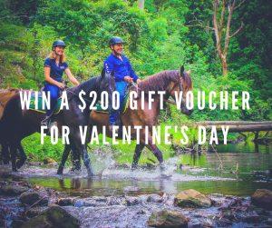 Glenworth Valley Outdoor Adventures – Win a Gift Voucher valued at $200 to celebrate Valentine's Day