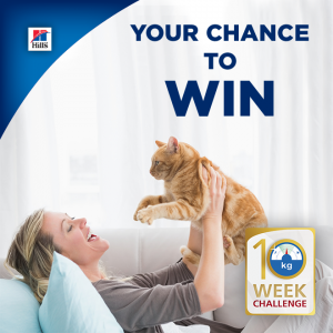 Hill's Pet Nutrition – Perfect Weight – Win 1 of 10 Dog or Cat prizes
