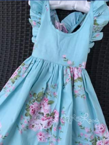 A Little Lacey – Win a Gorgeous Blue Arele Dress