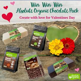 Absolute Organic Win an Absolute Organic Chocolate Pack – Win an Absolute Organic Chocolate Pack