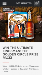 Access All Areas Fox Entertainment – Win The Ultimate Kingsman (prize valued at $300)