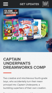 Access All Areas – Win a Dreamworks (prize valued at $500)