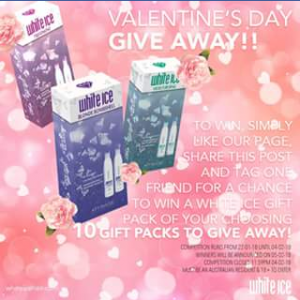 Affinage Australia FB – Win a White Ice Gift Pack of Your Choosing