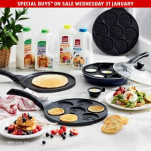 Aldi Australia – Win Everything You Need for a Pancake Party