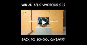 ASUS – Win One Right Now Along With a Backpack Full of Asus Goodies and a $200 Visa Gift Cardto Cover All of Your Back to School Needs