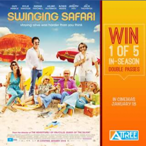Attree Real Estate – Win 1 of 5 In-Season Double Passes to See Swinging Safari Movie