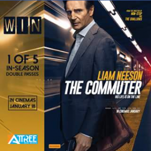 Attree real estate – Win 1 of 5 In-Season Double Passes to See The Commuter
