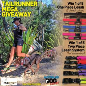 Australian Dog Lover – Win 1 of 13 Hands-Free Leash Systems to Run With One Or Two Dogs (prize valued at $365)