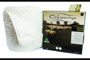 Australian Made – Win a Queen Size Australian Made Australian Wool Quilts From Onkaparinga Valued at $459.95 (prize valued at $460)